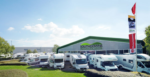 Southdowns Motorhome Centre Showroom