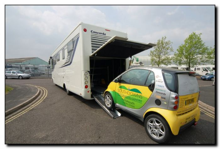Used Concorde D-Liner 890G Smart Car Garage Iveco 70C17 3 0L Automatic  A-Class Luxury Motorhome U201439 Sold