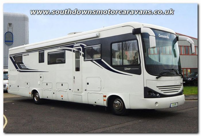 Used Concorde Liner 1090M MAN TGL 10 240 Automatic A-Class Motorhome  U200608 Now Sold