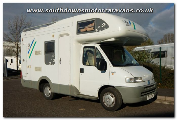 Used Knaus Traveller 504 Coachbuilt Motorhome U2687 Now Sold