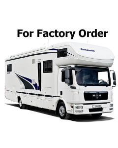New 2014 Concorde Cruiser 891L Iveco Daily Motorhome