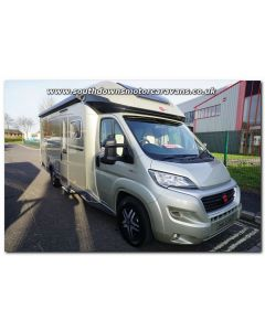New 2019 Burstner Ixeo TL 728G Fiat 150 Automatic Low-Profile Motorhome N101436 Just Arrived