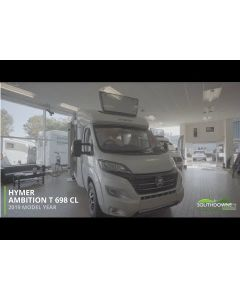 New 2019 Hymer T-Class CL 698 'Ambition' Fiat 150 Automatic Low-Profile Motorhome N101366 *SPECIAL OFFER*