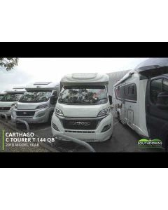 New 2018 Carthago C-Tourer T 144 QB Fiat 2.3L 150 Low-Profile Motorhome N101246 *SPECIAL OFFER*