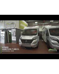 New 2019 Hymer T-Class CL 698 'Ambition' Fiat 150 Automatic Low-Profile Motorhome N101368 *SPECIAL OFFER*
