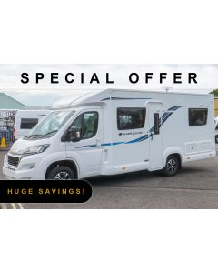 New 2019 Compass Avantgarde 155 Peugeot Boxer 2.0L 130 Manual Low-Profile Motorhome N101504 *Special Offer*