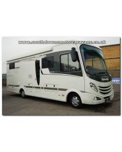 Used LHD Concorde Carver 841L Iveco 65C17 3.0L Automatic Luxury A-Class Motorhome U201508