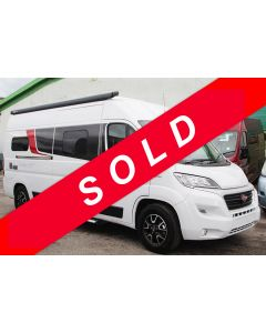 2018 Burstner City Car C600 Fiat 150 Automatic Camper Van N101065 - sold