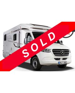 New 2020 Hymer ML-T 580 Mercedes Sprinter 2.2L 163BHP Automatic Low-Profile Motorhome N101647 - sold