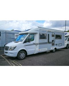 Used Autosleeper Burford Auto 316 Mercedes-Benz 2.2L 150 Automatic Low-Profile Motorhome U201493