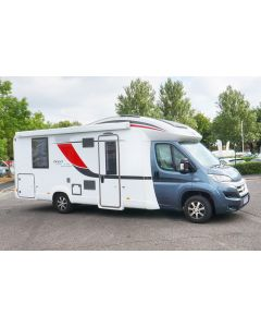 Used 2015 Burstner Ixeo Time 745 G Sovereign 2.3L Manual Low-Profile Motorhome U201497