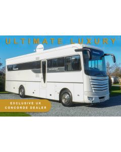 Used 2015 LHD Concorde Liner Centurion 1060 G MAN TGM 6.9L 340BHP Automatic A-Class Motorhome U201674 *UNIQUE TO THE UK*