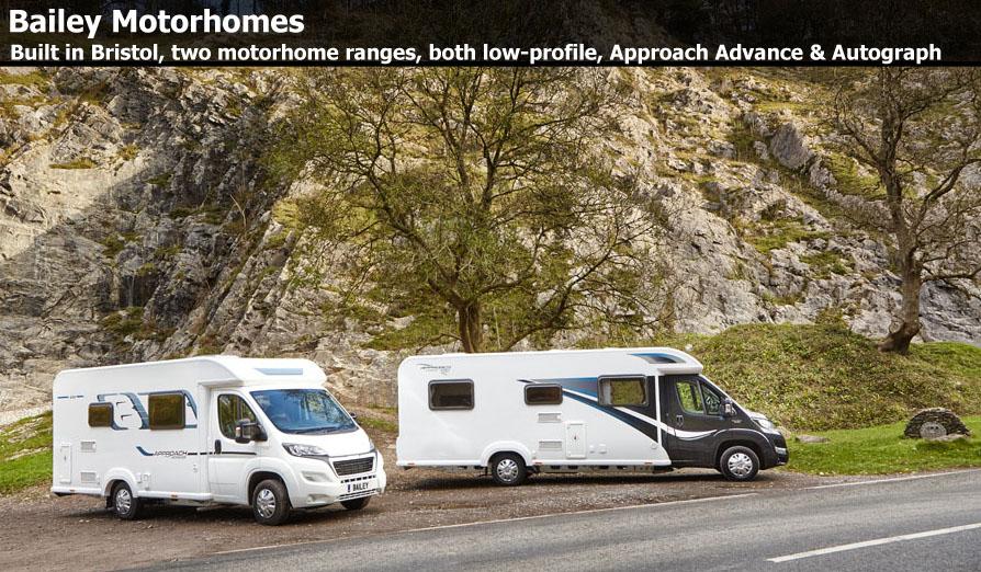 Bailey Motorhomes | Touring Caravans | Motorhomes For Sale