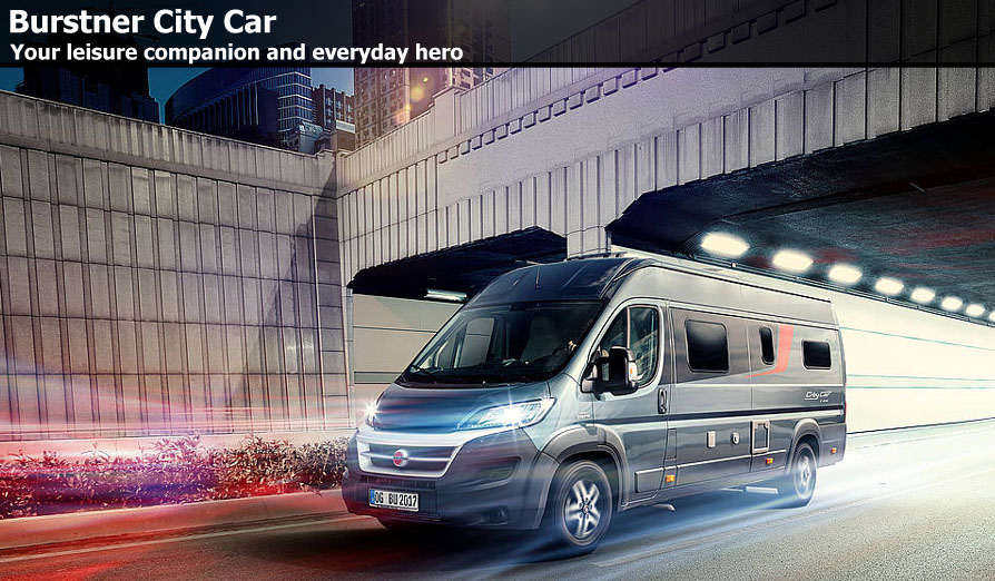 New Burstner City Car Camper Vans For Sale