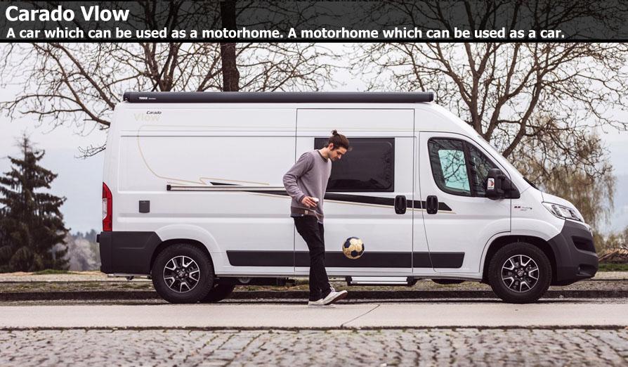 New Carado Vlow Camper Vans For Sale