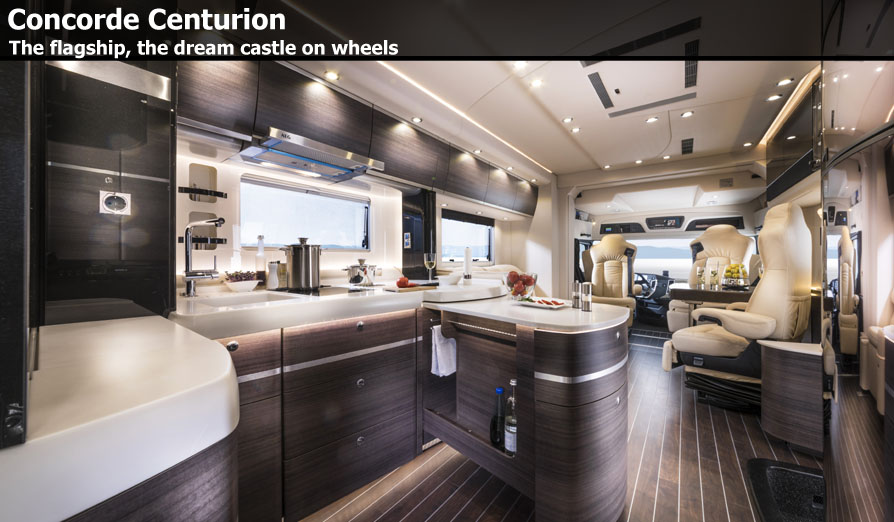 Mercedes Benz Motorhome >> Concorde Centurion Motorhomes For Sale at Southdowns ...