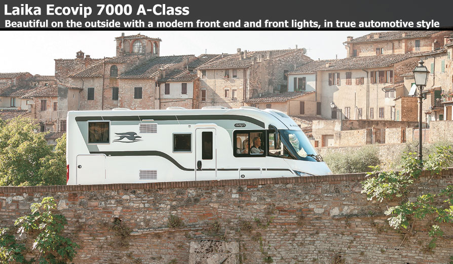 New Laika Ecovip A-Class Motorhomes For Sale