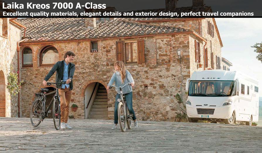 New Laika Kreos A-Class Motorhomes For Sale
