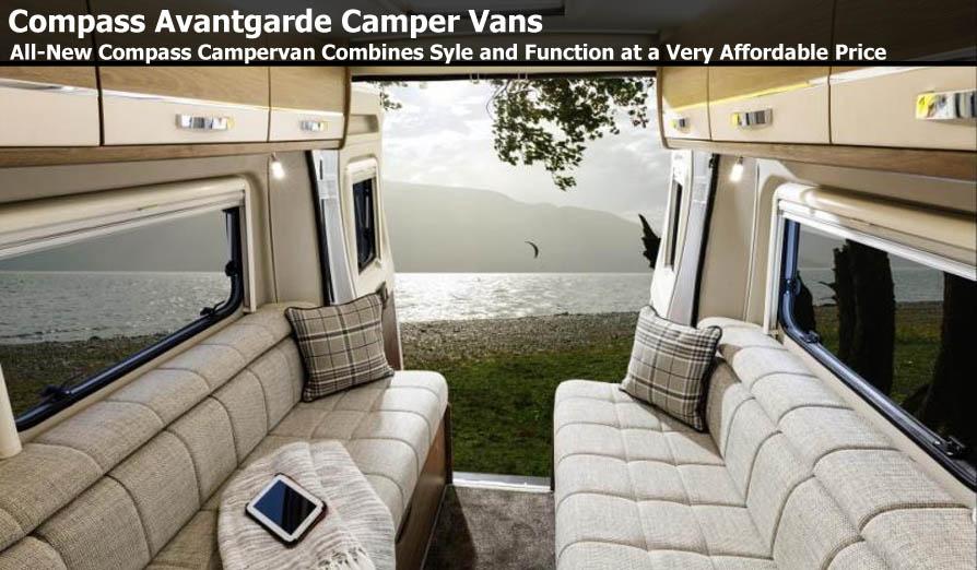 Avantgarde Camper Vans | New Compass Campervan | Southdowns