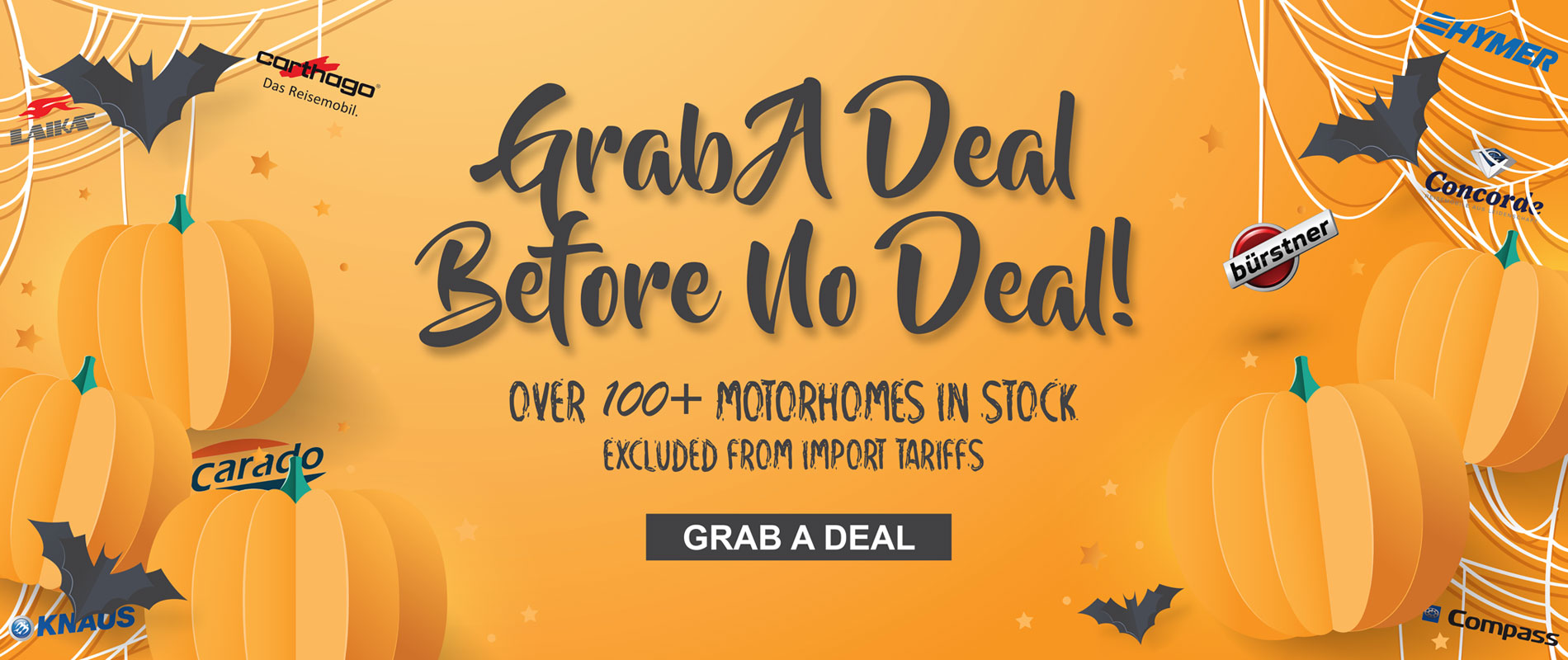 Grab A Deal Before No Deal - Halloween