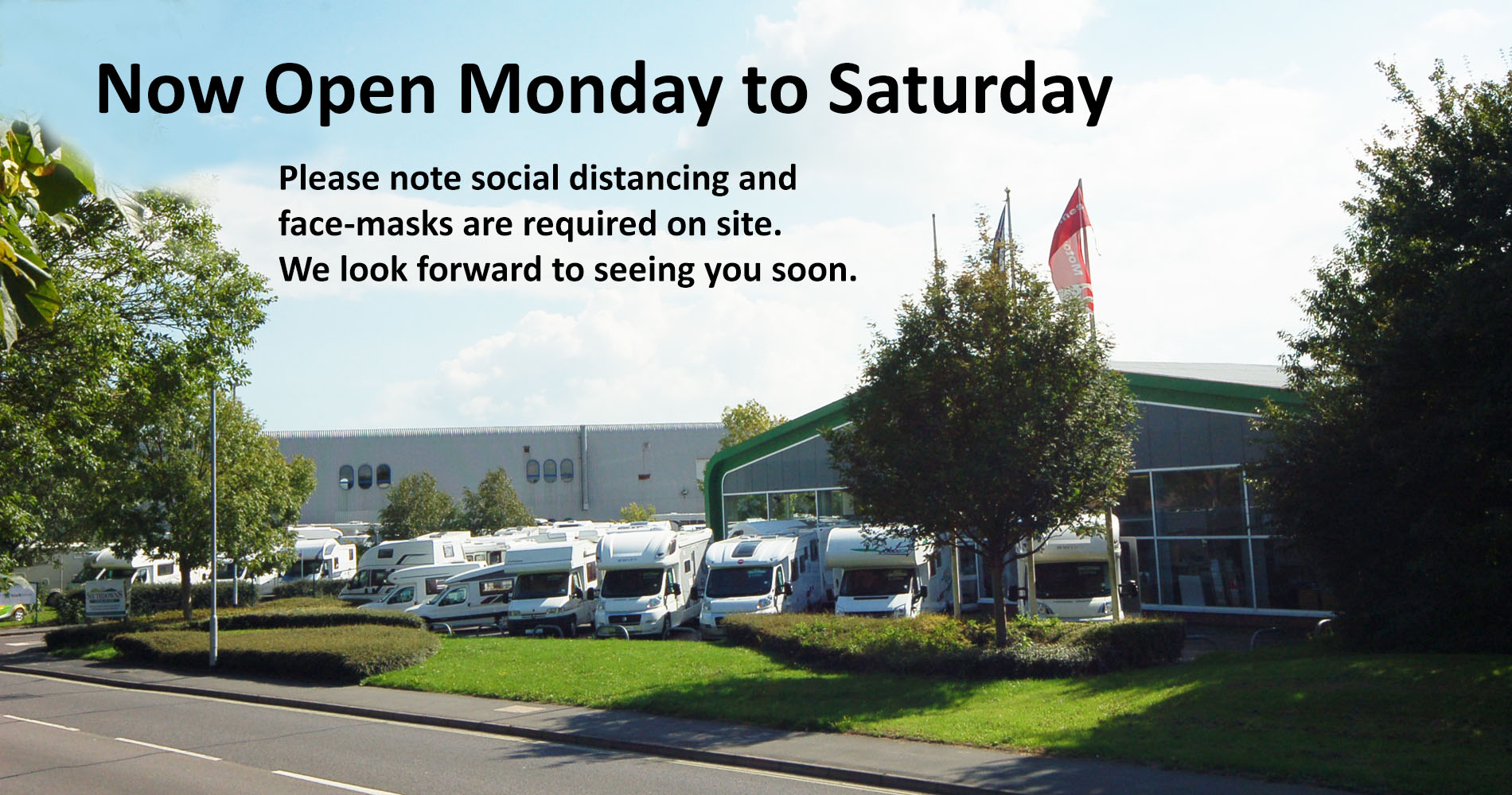 Southdowns Showroom Open Monday to Saturday