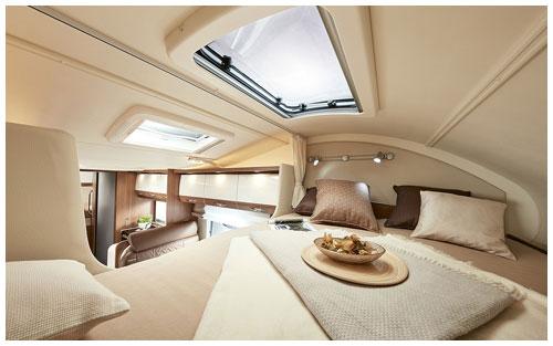 2020 Burstner Argos Motorhome A 747 2-G - Interior Photo - Bed 1