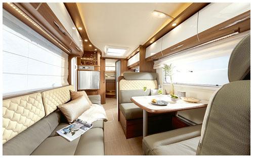 2020 Burstner Argos Motorhome A 747 2-G - Interior Photo - Lounge 2