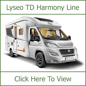 Burstner Lyseo TD Harmony-Line Motorhomes