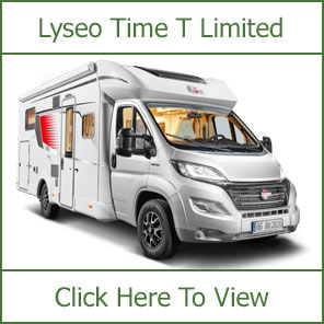 Burstner Lyseo Time T Limited Motorhomes