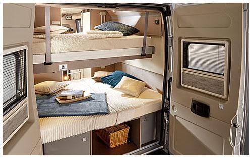 2020 Burstner City Car - Camper Van - Bunk-Beds