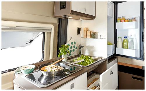 2020 Burstner City Car - Camper Van - Kitchen
