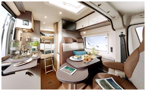 2020 Burstner City Car - Camper Van - Lounge and Centre