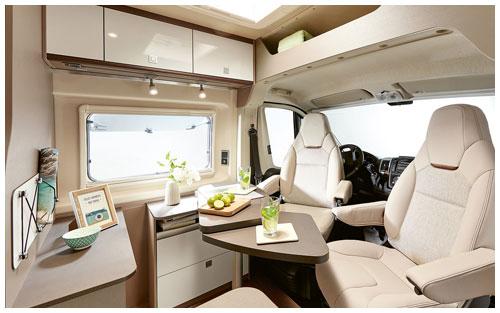 2020 Burstner City Car - Camper Van - Lounge View