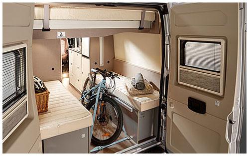2020 Burstner City Car - Camper Van - Rear View