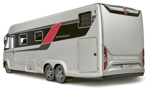 2020 Burstner Elegance Motorhome - Exterior Photo - Rear View