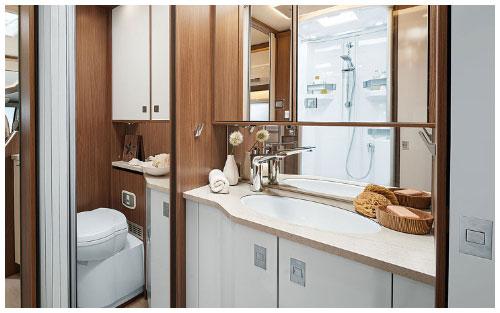 2020 Burstner Elegance Motorhome - Interior - Photo - Bathroom