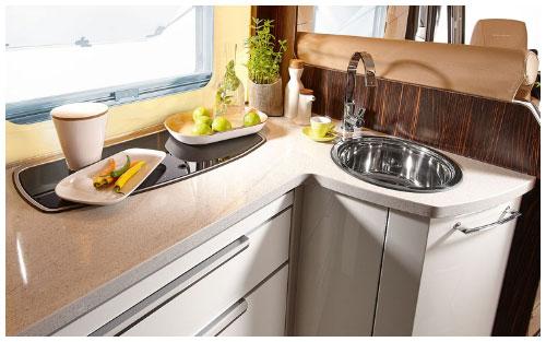 2020 Burstner Elegance Motorhome - Interior Photo - Kitchen