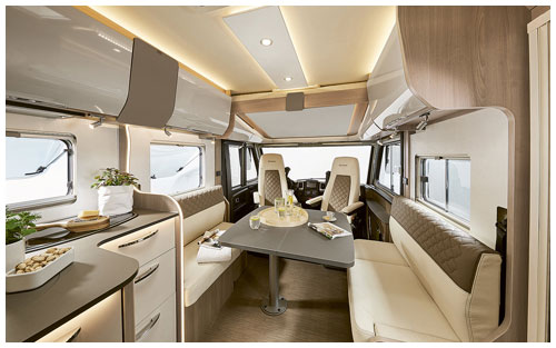 2020 Burstner Ixeo I - A-Class - Lounge and Cab