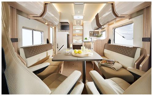 2020 Burstner Ixeo I - A-Class - Lounge View