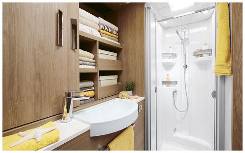 2020 Burstner Ixeo TL Low Profile Motorhome - Bathroom