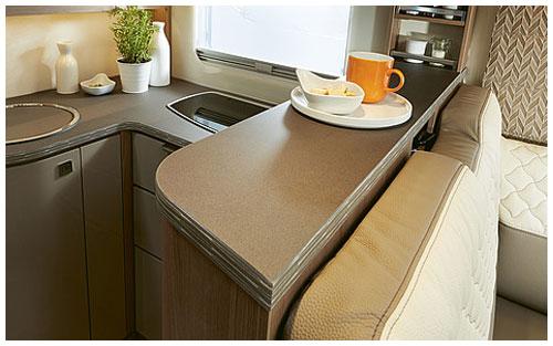 2020 Burstner Ixeo TL Low Profile Motorhome - Breakfast Bar