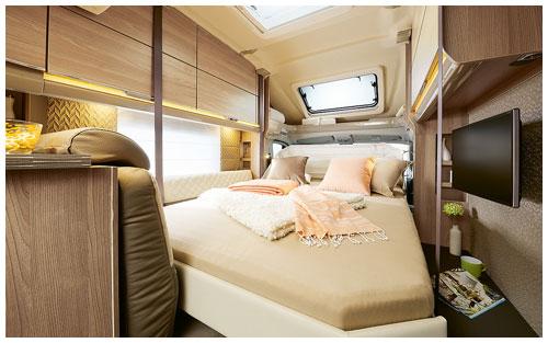2020 Burstner Ixeo TL Low Profile Motorhome - Drop Down Bed