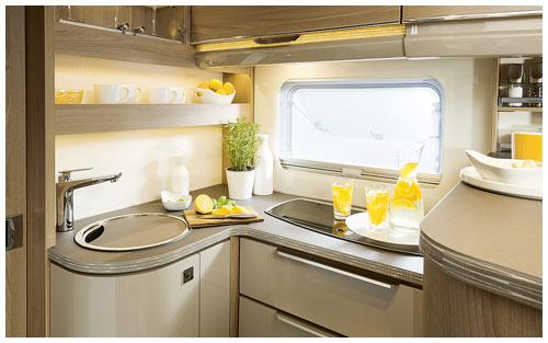 2020 Burstner Ixeo TL Low Profile Motorhome - Kitchen