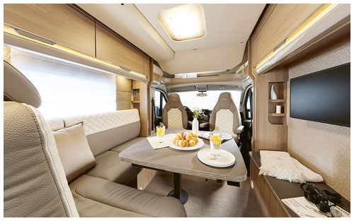 2020 Burstner Ixeo TL Low Profile Motorhome - Lounge 2