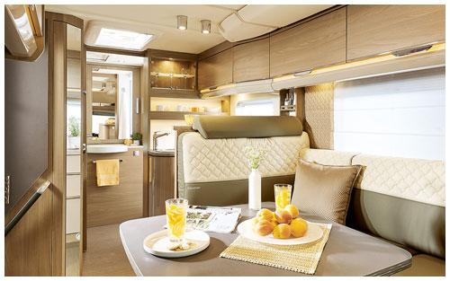2020 Burstner Ixeo TL Low Profile Motorhome - Lounge