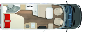 2020 Burstner Lyseo M Harmony Line - Coachbuilt Motorhome - 660 - Layout