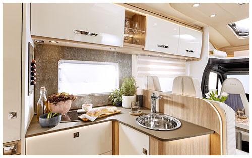 2020 Burstner Lyseo M Harmony Line - Coachbuilt Motorhome - Kitchen