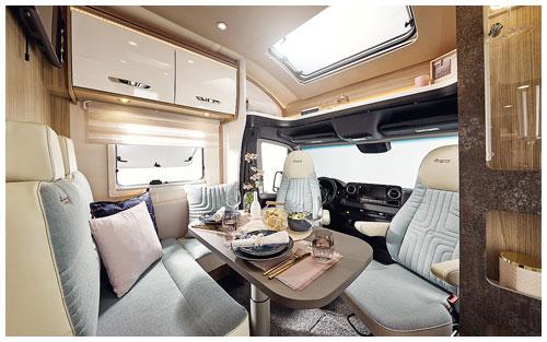 2020 Burstner Lyseo M Harmony Line - Coachbuilt Motorhome - Lounge and Dining