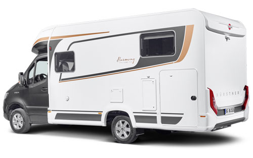 2020 Burstner Lyseo M Harmony Line - Coachbuilt Motorhome - Exterior Photo - Rear View
