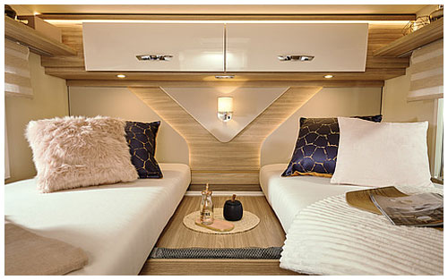 2020 Burstner Lyseo M Harmony Line - Coachbuilt Motorhome - Twin Single Bed